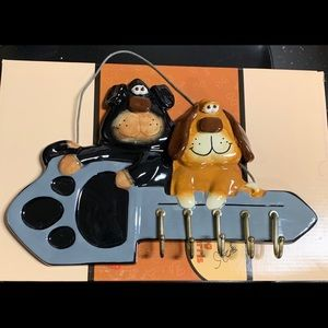 It's A Dawg's Life Dog Keyring or Leash Holder